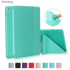 BYHeYang Case for New iPad Pro 10.5 2017 PU Smart Cover Case Magnet wake up sleep For iPad Pro 10.5inch 2017 Table Cover