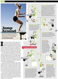 plyometrics  optimal training for runners  fitness