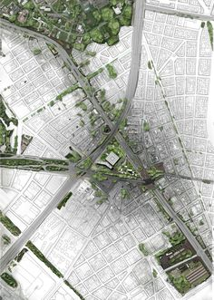 Urban Landscape Night Pictures to Landscape Architecture And Urban Design Difference Architecture Mapping, Plans Architecture, Architecture Panel, Landscape Architecture Design, Architecture Graphics, Landscape Plans, Architecture Drawings, Urban Landscape, Masterplan Architecture