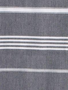 hammam towel black/white - Ottomania