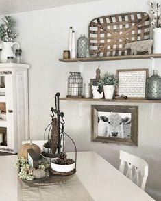Amazing farmhouse kitchen decor ideas (11)