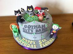 Super hero / villain cake