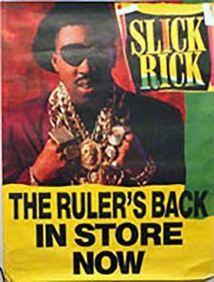 THE FAT BOYS POSTER  24 x 36 original funky poster Co Hip Hop Rap Old Skool