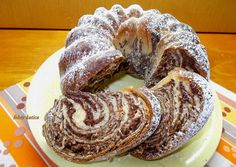 Sweet Recipes, Cake Recipes, Dessert Recipes, Hungarian Cake, Croissant Bread, Creative Cakes, Winter Food, Sweet Bread, Cake Cookies