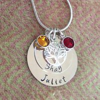 Gifts For Mum, Hand Stamped, Personalized Gifts, Sterling Silver, Chain, Chains, Personalised Gifts