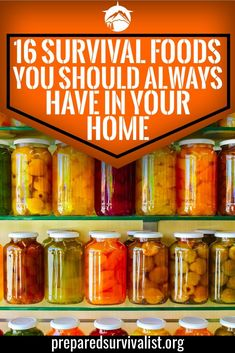 survival food - it is important to keep a list of survival foods you need to have for the end days. Start using these 16 survival foods and you're on the right track. Survival Supplies, Survival Prepping, Survival Gear, Survival Skills, Survival Quotes, Survival Hacks, Survival Weapons, Apocalypse Survival, Survival Stuff