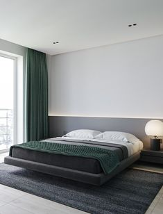 The Home Decor Guru – Interior Design For Bedrooms Modern Bedroom Design, Master Bedroom Design, Home Decor Bedroom, Bed Design, Home Interior Design, Bedroom Designs, Simple Interior, Diy Bedroom, Bedroom Ideas