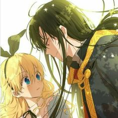 athanasia and lucas from who made me a princess? Manga Anime, Anime Couples Manga, Anime Demon, Cute Anime Couples, Hot Anime, Anime Art Girl, Manga Girl, Anime Girls, Manhwa