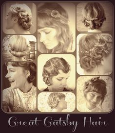 Hair how tos for styles inspired by The Great Gatsby