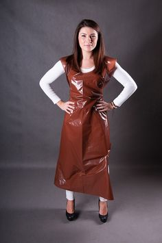 faruchy foliowe na rolce, producent fartuchów foliowych a rolce Plastic Aprons, Pvc Apron, Capes, Outfit, Nylons, Kinky, Mantel, Overalls, Underwear