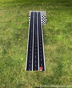 Monster Truck Party DIY car track