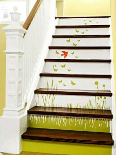 Stair - Love the painting