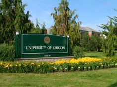 Welcome to the University of Oregon, Eugene, Oregon