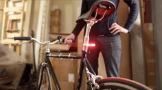 """""""Blink Steady is a smart bike light that turns on automatically when you are riding and shuts off when you're not. It also features a light sensor that detects when it's dark enough be on."""" - NOTCOT"""