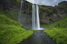 Because Seljalandsfoss. | 25 Reasons Why You Should Peace Out And Go Photograph Icelandhttp://www.wallacetravelgroup.ie/holidays/iceland-holidays.189.html