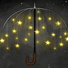 Stars. So easy to draw! I think I'll use black paper and white and yellow chalk or colored pencils. How will you draw it? How many stars will you draw? Send me a photo! lindalane42@gmail.com (use or make your own umbrella for a garden feature)