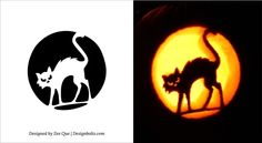 printable scary pumpkin carving patterns stencils ideas