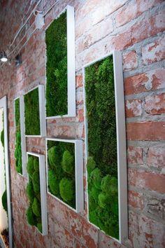 The Benefits of Using Artificial Plants - Artificial Plants - Garden Wall Designs, Vertical Garden Design, Indoor Garden, Indoor Plants, Moss Plant, Interior Design Guide, Moss Wall Art, Industrial Office Design, Low Light Plants