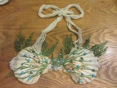 DIY Mermaid Shell Bra: 5 Steps (with Pictures)