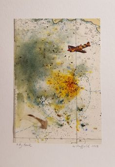 Kitty Hawk Mixed media collage www.WDuffieldArt.com #mixedmedia #mixedmediaart #wduffieldart#  yyjartist#victoriaartist #bcartist  #canadianartist #buyhandmade  #oneofakind #uniquegifts #collage #aviation Kitty Hawk, Canadian Artists, Mixed Media Collage, Aviation, Vintage World Maps, Unique Gifts, Painting, Air Ride, Painting Art