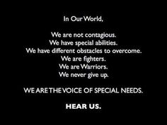 In Our MS World -We are NOT... We are FIGHTERS, WARRIORS. We NEVER GIVE UP!! MS AWARENESS