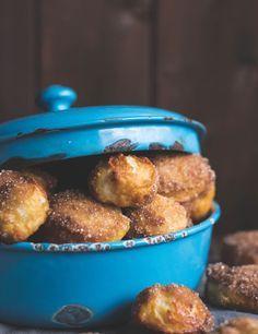 S-Küche: Laugenkonfekt aus Brioche Teig mit Zimt und Zucker - Soft Pretzel Bites