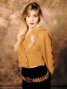 The Most Stylish TV Characters of All-Time: Christina Applegate as Kelly Bundy on Married with Children, 1987.