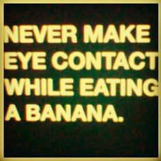 Hahaha.. I tear it and eat it in pieces just in case. :)