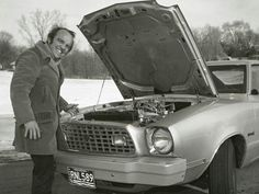 Jack Roush one of the first pro street cars, jack put alot of horsepower in this Mustang ll