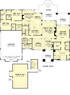 images about House Plans on Pinterest   Floor plans  House       images about House Plans on Pinterest   Floor plans  House plans and First story