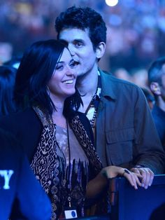 katy perry and john mayer watching the rolling stones