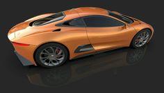 T.I DesignさんはInstagramを利用しています:「Jaguar C-X75 #jaguar #cx75 #007 #bond #car #design #cardesign #vehicle #vehicledesign #motorshow #product #productdesign #sportscar…」