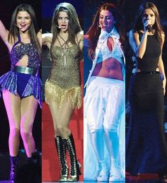Stars Dance outfits