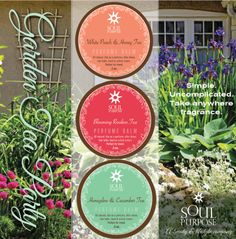 Our newest Perfume Essence Gift Set! GARDEN TEA PARTY!