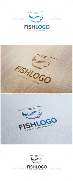 Fish Logo http://graphicriver.net/user/ms_designer/portfolio?ref=MS_designer