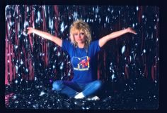 Nina Blackwood Italo Disco, Funky Outfits, 80s Music, Mtv, Concert, Singer, Hairstyles, Modern Outfits, Concerts