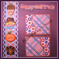 """I added """"Paper Piecing by Steph"""" to an #inlinkz linkup!http://stephanie-scraps.blogspot.com/2014/08/happy-fall-yall.html"""