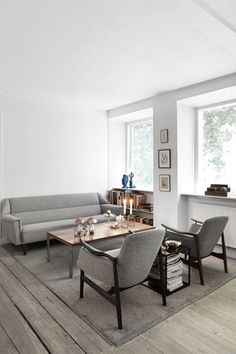 #white #grey #interiors