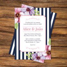 Vintage, floral e elegante! Uma boa ideia para convite de casamento!! #wedding #inspitation #vintage #arabescos #casamento  #floral #inspiração  Orçamento: enlacedesigndp@gmail.com