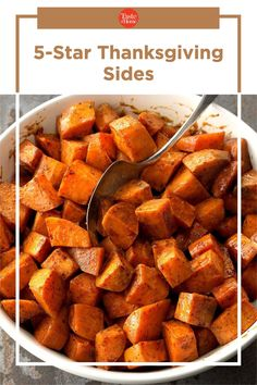 5-Star Thanksgiving Sides Holiday Side Dishes, Thanksgiving Sides, Taste Of Home, Side Dish Recipes, Holiday Recipes, Sweet Potato, Meals, Canning, Vegetables