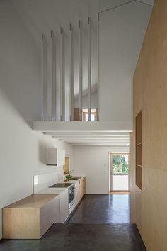 Nogueiras House - Picture gallery #architecture #interiordesign #kitchen