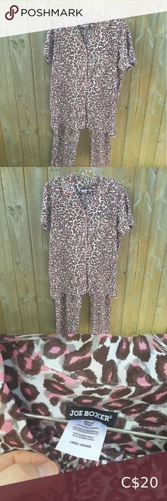 Pink leppard print pajamas nwt ladies Comfy pjs new with tags. Shipping out of Toronto. Joe Boxer Intimates & Sleepwear Pajamas Plaid Pajamas, Fleece Pajamas, Red Plaid, Pjs, Red And Pink, Boxer, Toronto, Comfy, Plus Fashion