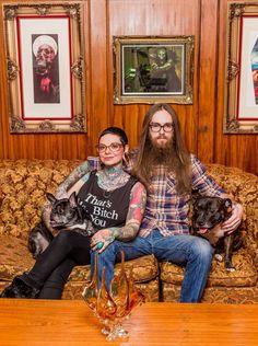 Sarah & Davey's Vintage Lodge Apartment — House Tour | Apartment Therapy