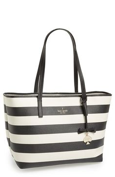 Striped tote by kate spade new york