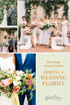 To find a floral designer who can bring all your dreams to life, start by asking for recommendations from the vendors you've already hired. Finding a florist who specializes in wedding design is important, your wedding day florals should capture you and your partner's personality. Check out the blog post from The Barn of Chapel Hill and read the 5 best tips for finding a wedding florist. Cake Flowers, Wedding Cakes With Flowers, Wedding Hair Flowers, Beautiful Wedding Cakes, Flowers In Hair, Plan Your Wedding, Wedding Tips, Wedding Day, Honeymoon Planning