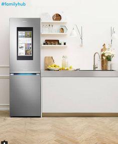 Frigo Samsung Family Hub – Miglior frigorifero smart 2018 Hub, Samsung, Houses, Tecnologia