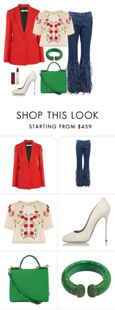 """""""Sunshine"""" by kfirinidoy ❤ liked on Polyvore featuring Givenchy, Michael Kors, Temperley London, Dsquared2, Dolce&Gabbana, Latelita and Maybelline"""