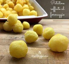 Le patatine soffiate al formaggio sono la versione casalinga e soprattutto sana delle famosissime patatine soffiate al gusto di formaggio...