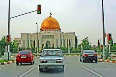 https://flic.kr/p/yhhM6k | Turkmenistan, Ashgabat, Turkmenbashi Palace