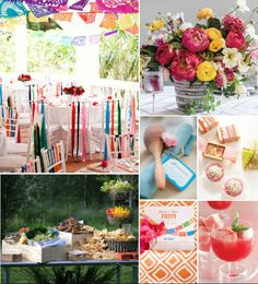 It's Cinco de Mayo this weekend, and to celebrate we've rounded up our favorite fiesta details for your bridal shower, rehearsal dinner, or reception! Bold colors, delicious cocktails, and fringy paper decor are key to hosting the ultimate Cinco de Mayo bash, so whip up some margaritas, bring out the pinata, and get inspired by our festive party ideas .